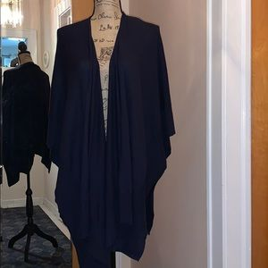 Chico's Navy Blue Wrap